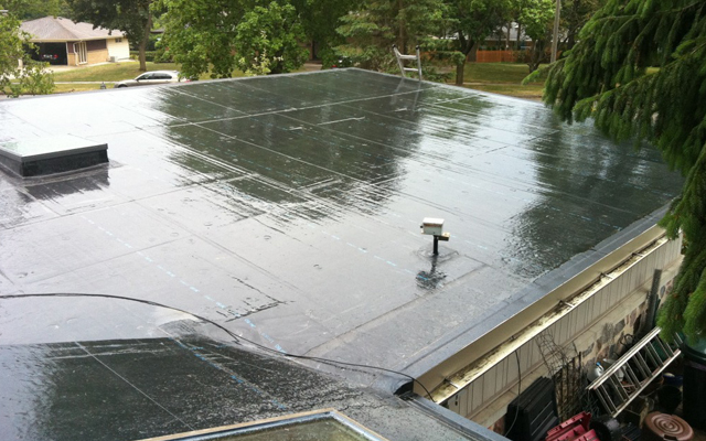 EDPM Rubber Roofing Instalations
